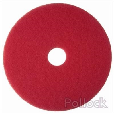 Niagara 17 red buffing floor pad for 17 floor buffer pads