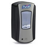 Purell LTX Chrome/Black Foam Dispenser