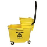 Radiance Yellow Side Pressure Combo Mop Bucket